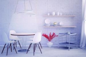 Modern minimalist Interior design (CGI)